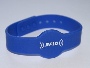 Bransoletka silikonowa RFID Mifare/NFC