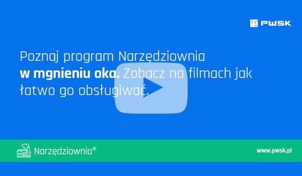 Obsługa programu Narzędziownia demo - film instruktażowy