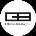 Mała wersja logo Galerii Bielskiej BWA