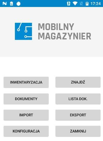 Aplikacja Mobilny Magazynier do zarządzania magazynem