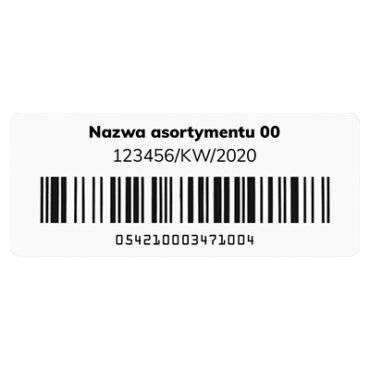 Smartrac Miniweb - etykieta RFID do zadruku
