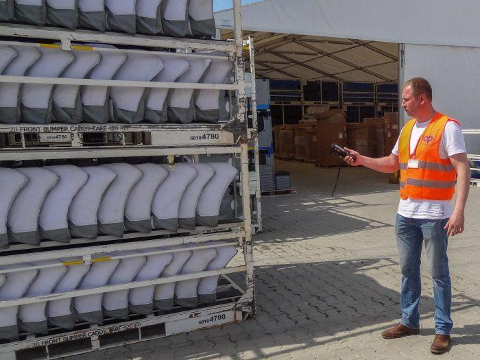 RFID w logistyce, ewidencja opakowań zwrotnych