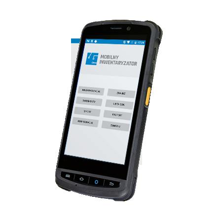 Mobilny inwentaryzator z aplikacją. Kolektor danych Zebra TC20
