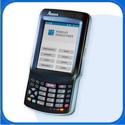 Kolektor danych do inwentaryzacji - mobilny inwentaryzator