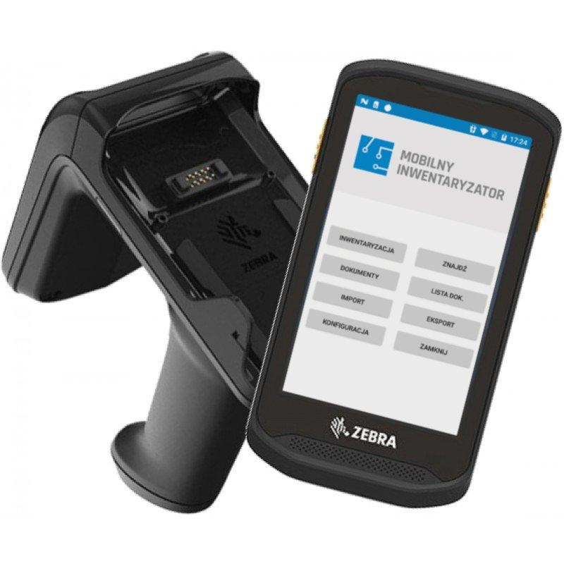Kolektor danych z oprogramowaniem Mobilny Inwentaryzator