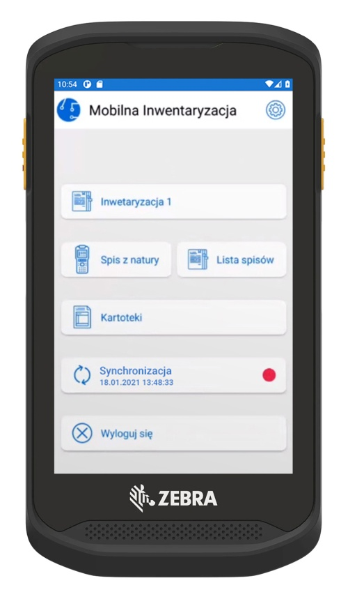 Spis z natury w aplikacji mobilnej