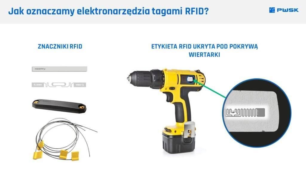 jak oznaczać elektronarzędzia znacznikami RFID