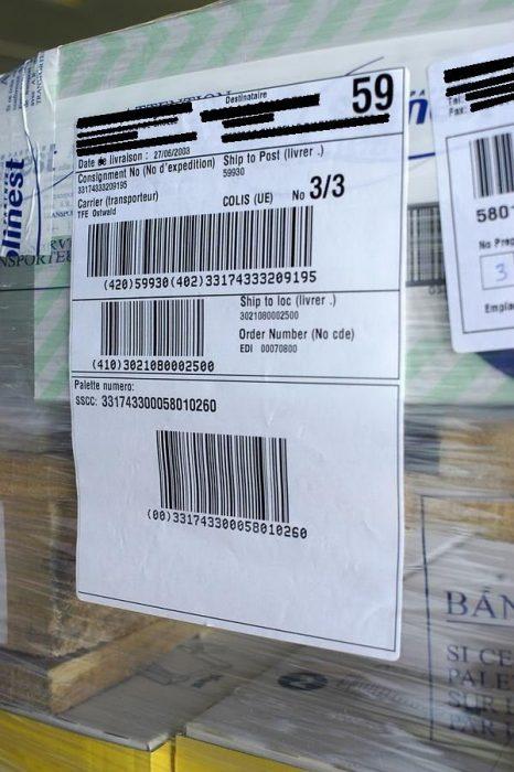 Etykiety logistyczne RFID UHF