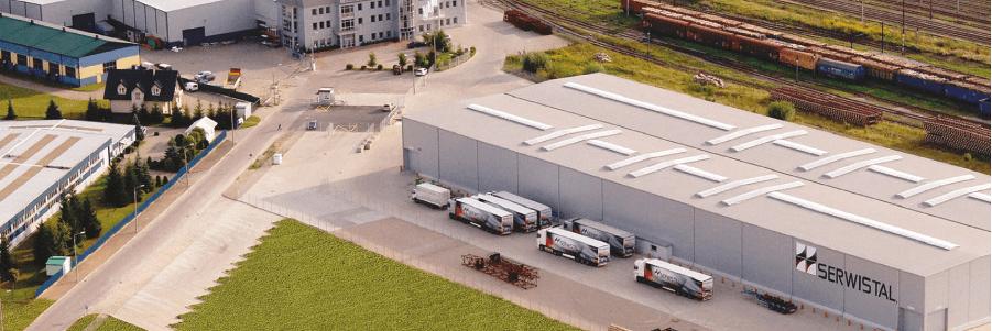 Budynek firmy Serwistal