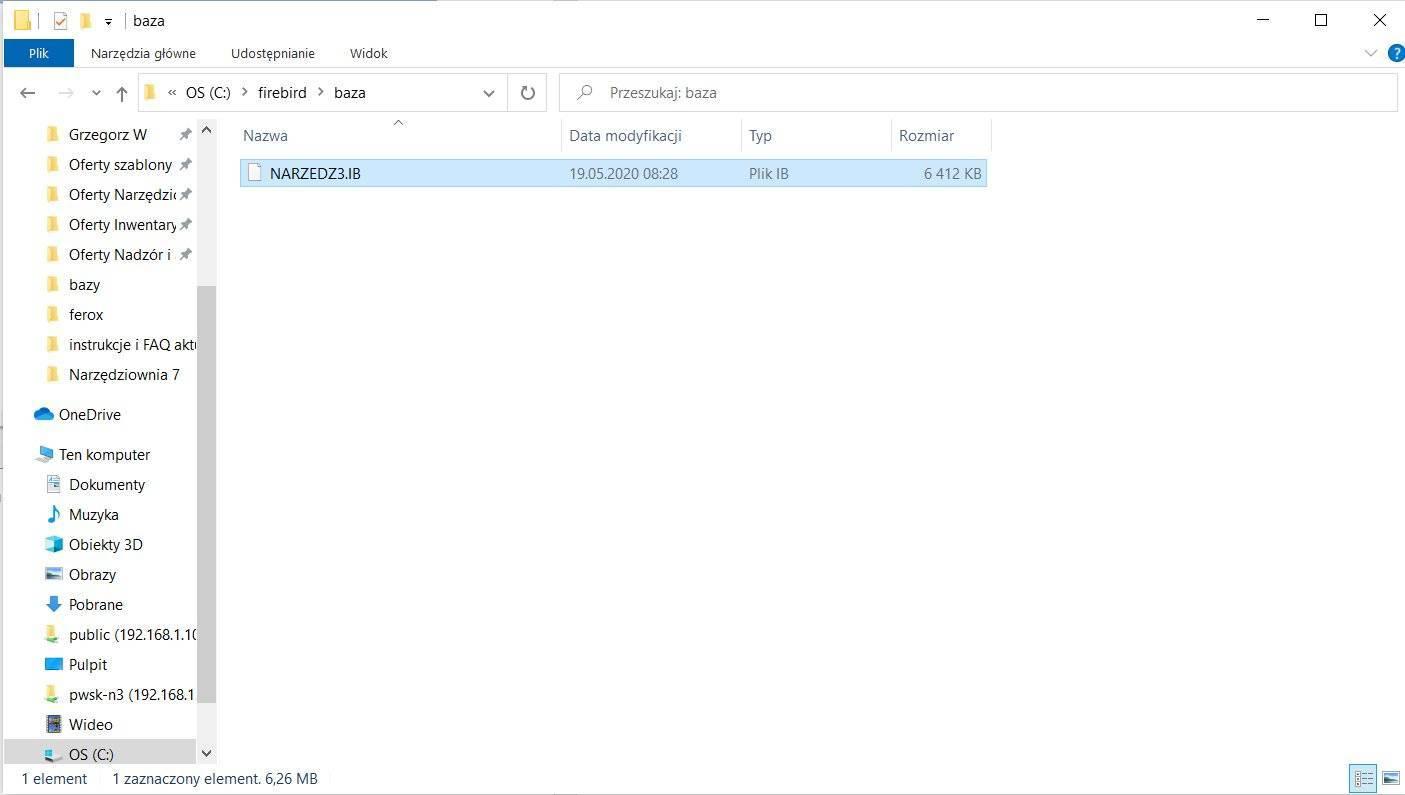 Edycja pliku narzedz3.ib
