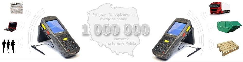 systemy rfid - 1000000 kartotek