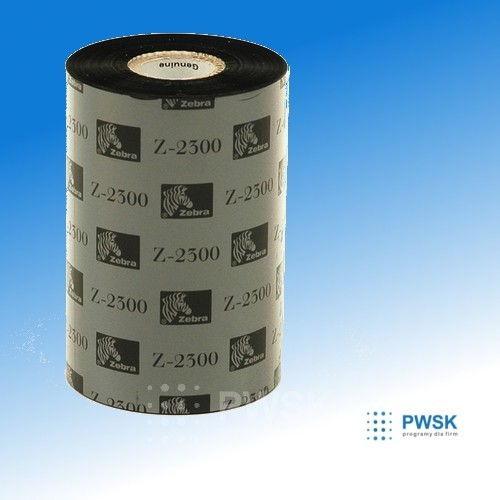 Zebra tasma drukujaca 110 mm x 74mb