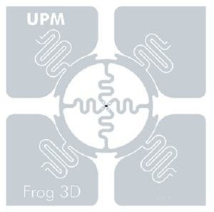 Tag RFID UPM Frog 3D
