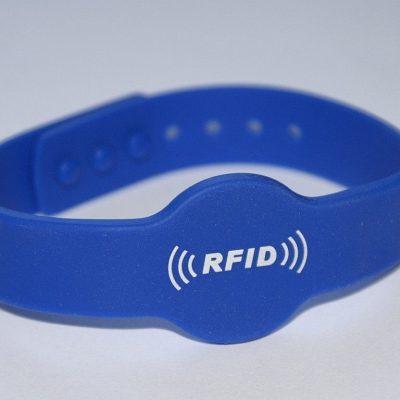 Bransoletka silikonowa RFID Unique