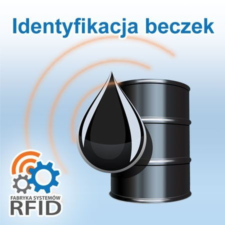 System do identyfikacji beczek z ropą, olejem, smarem.