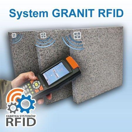 Oznaczenie i ewidencja kamienia, granitu i marmuru na wyrobisku, w magazynie, kamieniołomie za pomocą technologii RFID