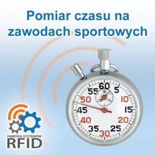Elektroniczny pomiar czasu na zawodach sportowych RFID.