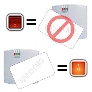Kontrola dostępu do maszyn. Aktywator RFID 125 kHz