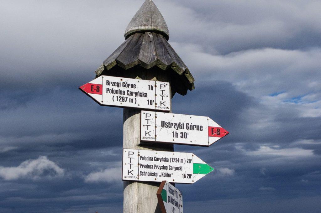Bieszczady Połoniny szlaki