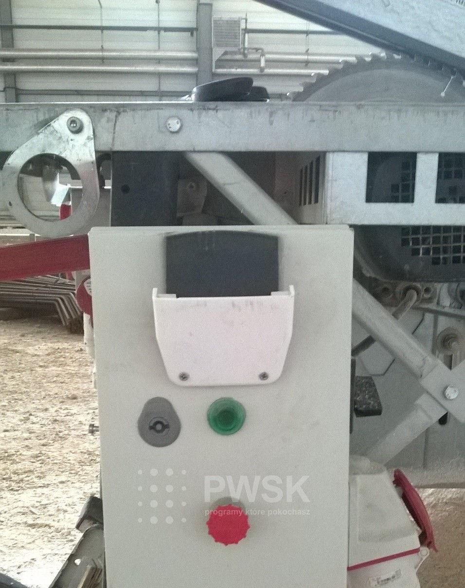 Kontrola dostępu do maszyn RFID (Aktywator RFID)