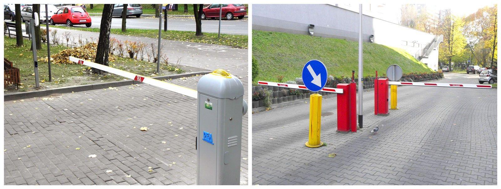 bezobsługowe systemy parkingowe, szlabany automatyczne i centrala sterująca