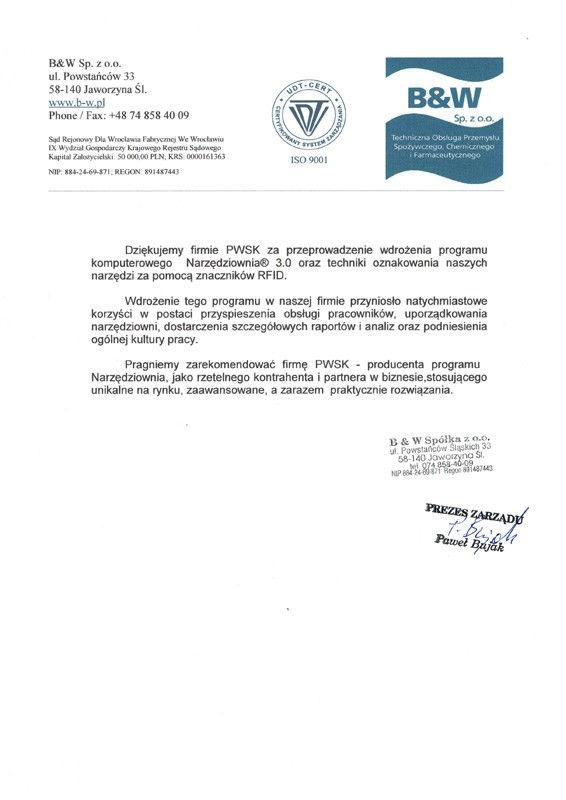 referencje, pwsk, stowarzyszenie joannici dzieło pomocy