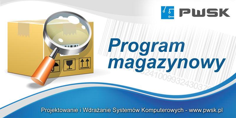 program magazynowy WMS firmy PWSK