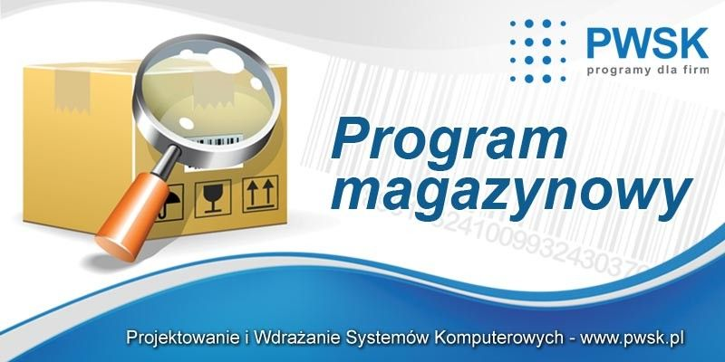 program do ewidencji, program magazynowy
