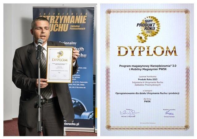 Program Narzędziownia, Mobilny Magazynier, Produkt Roku 2013 Utrzymanie Ruchu