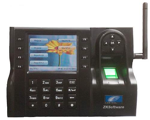 Rejestrator czasu pracy i kontrola dostępu iClock 580