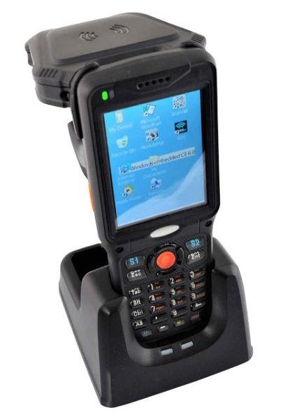 Kolektor danych z odczytem kodu kreskowego oraz tagów RFID UHF
