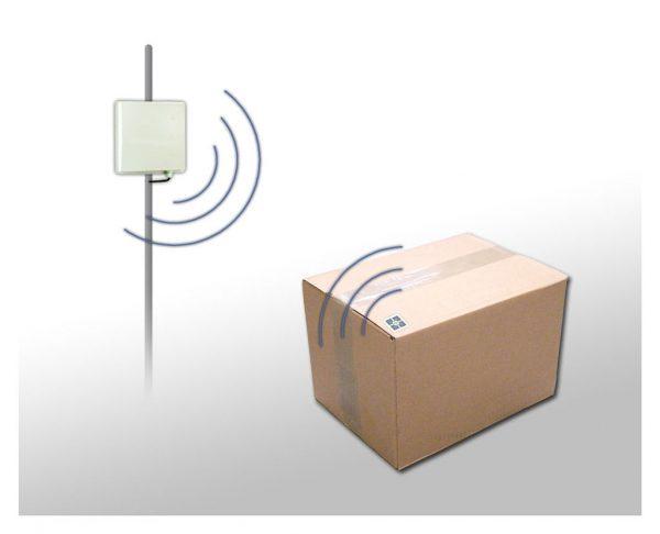 magazyn i brama RFID - czytnik RFID i etykiety logistyczne
