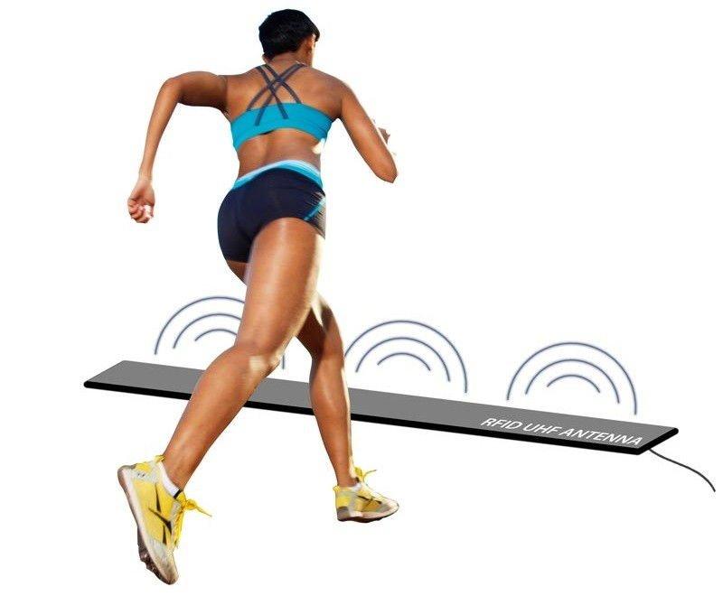 elektroniczny sportowy pomiar czasu na zawodach, mata RFID