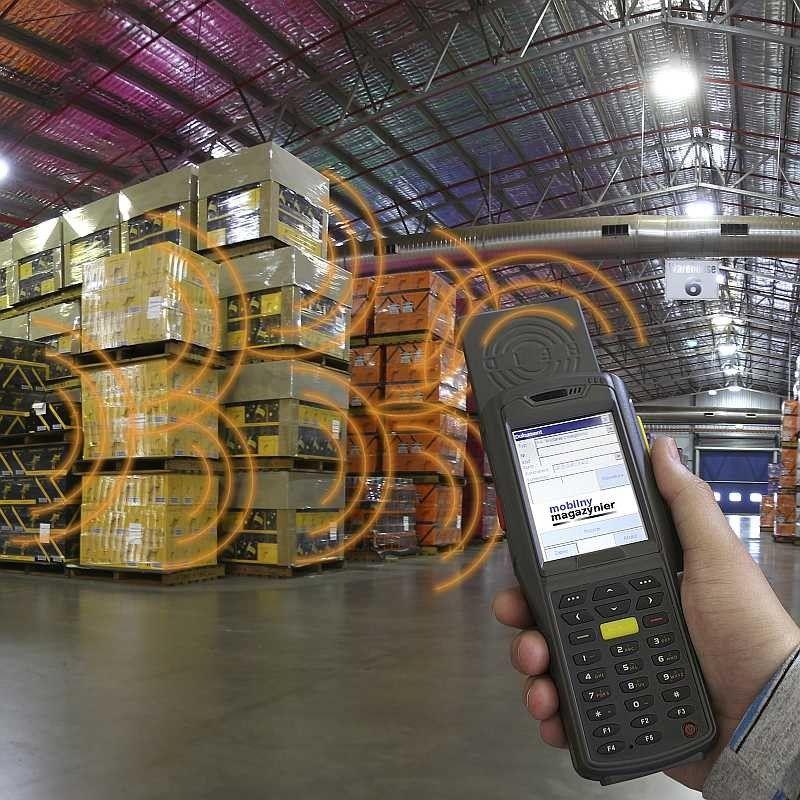 logistyka mobilny magazynier rfid uhf inwentaryzacja
