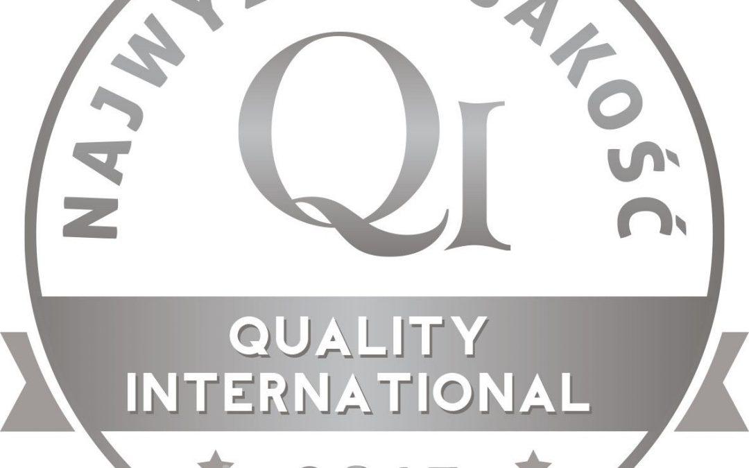 Najwyższa Jakość Quality International 2015