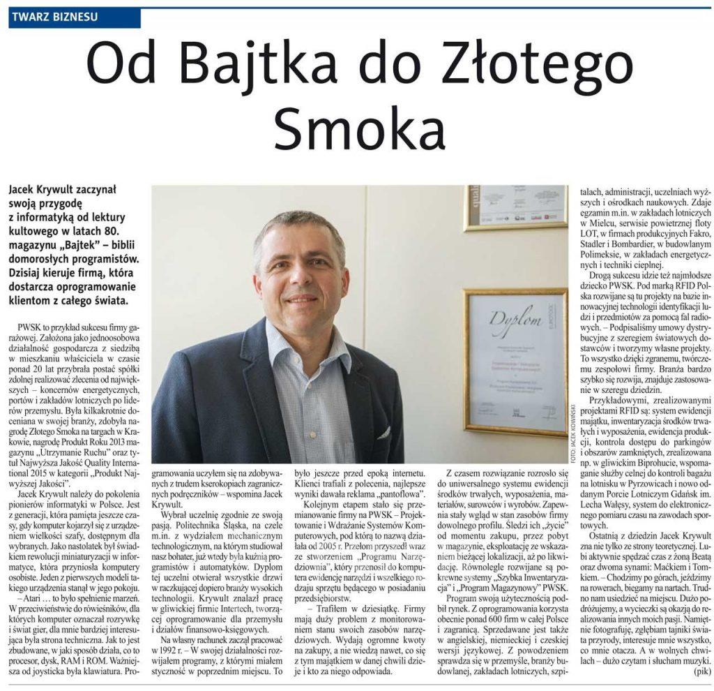 nowiny-gliwickie-artykul-jacek-krywult-pwsk