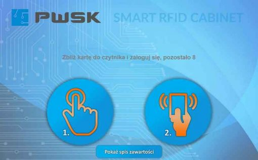 smart rfid cabinet