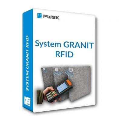 Oznaczenie i ewidencja kamienia, granitu i marmuru za pomocą technologii RFID