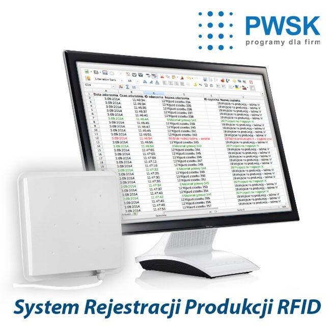 Program do rejestracji procesów produkcyjnych RFID
